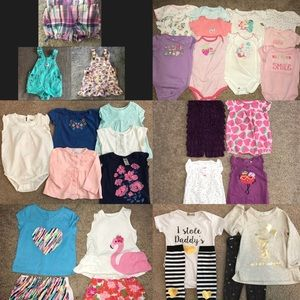 Other - 9 month baby girl lot EUC - 33 pieces